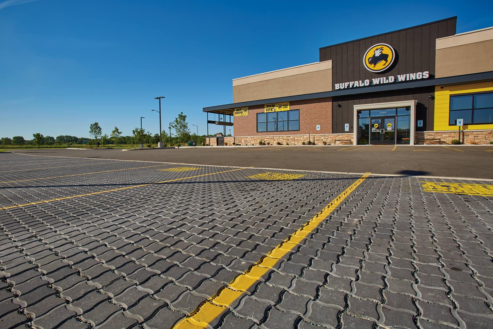 Renewable™ Pavers Help Meet Municipality's Runoff Standards