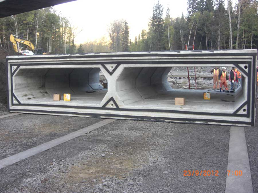 Chetwynd Box Culvert Project