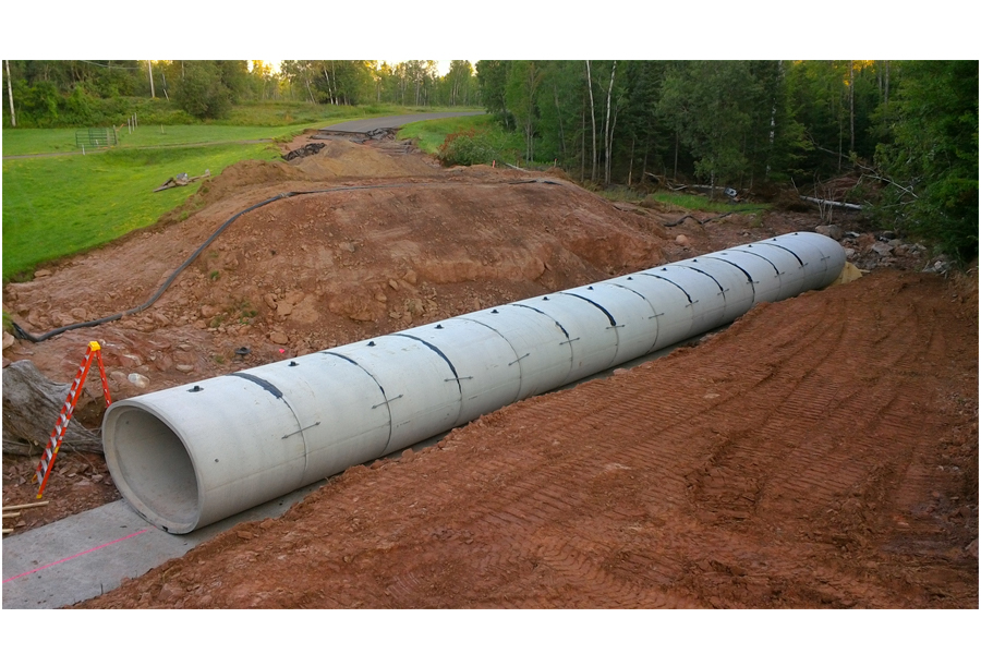 Elliptical Reinforced Concrete Pipe