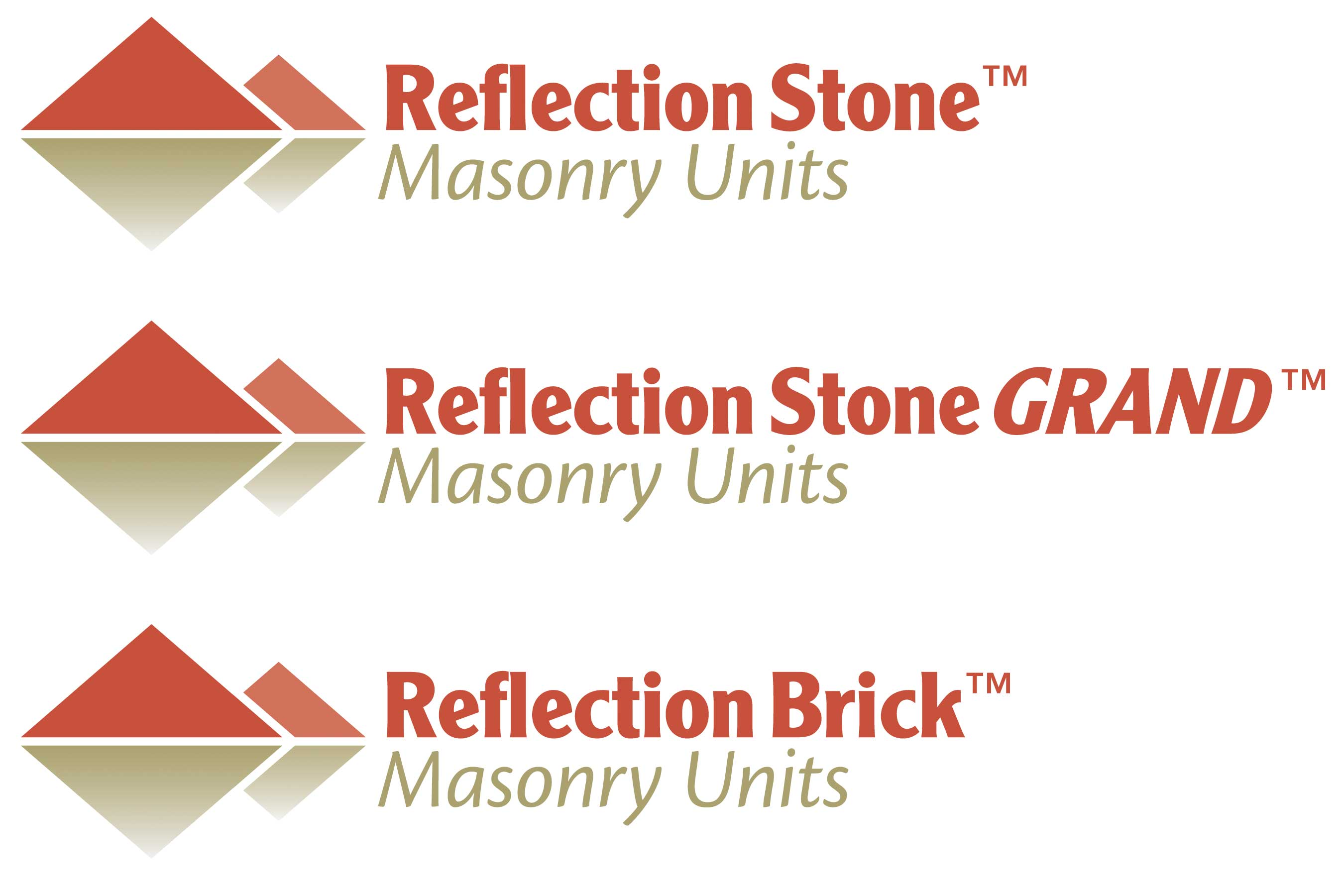 Reflection Stone Masonry Units