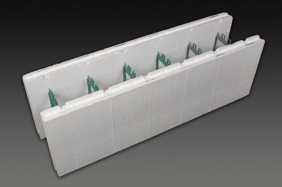 Icf commercial applications for Insulated concrete foam