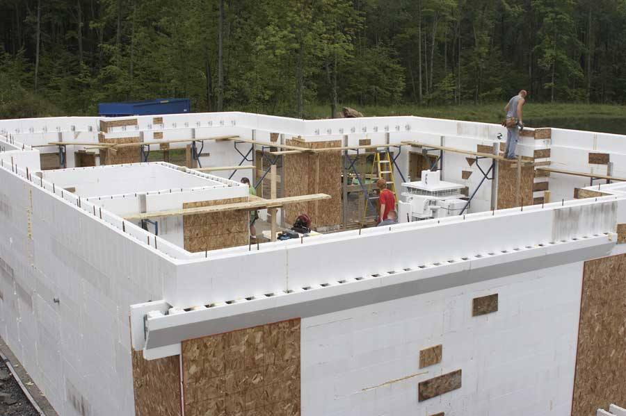 ICF Residential Applications on ice house designs, timber frame house designs, log house designs, concrete house designs, sap house designs, straw bale house designs, wood house designs, zero energy house designs,