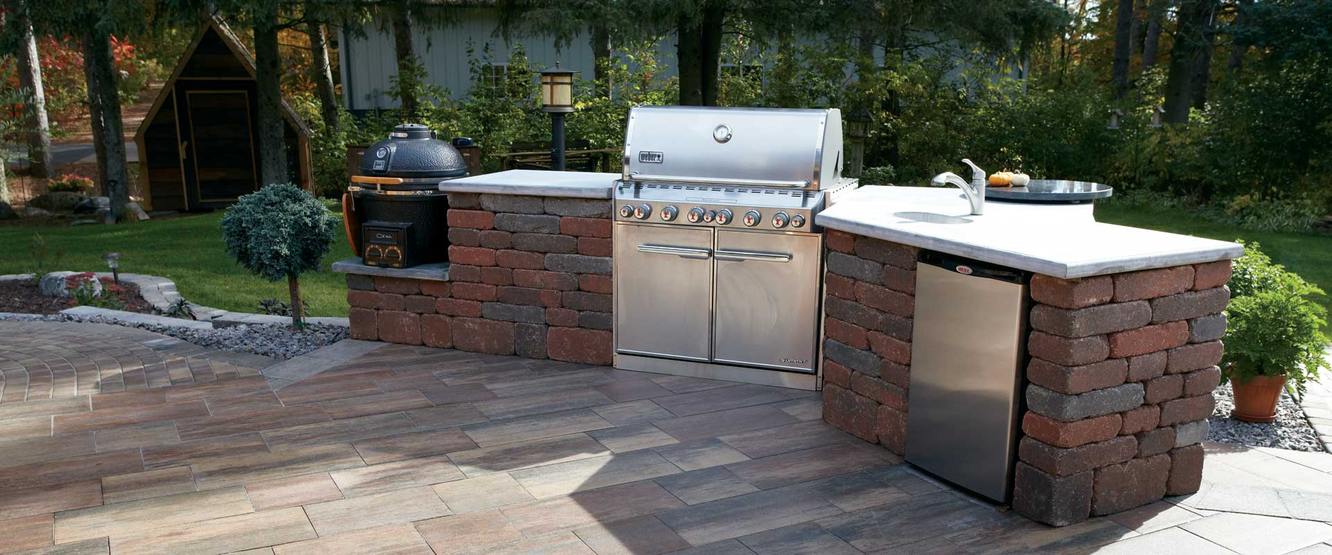 Summit stone landscape units Patio products