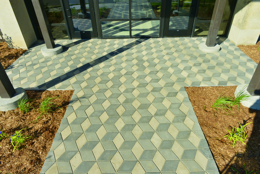 Dimetta pavers for Landscaping rocks pinellas county