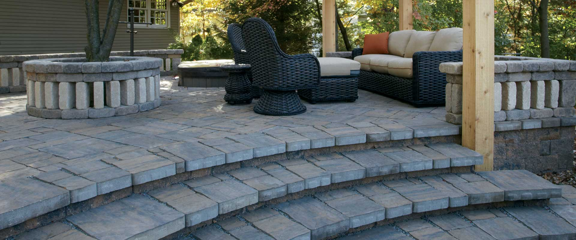 Grand lifestyle pavers and lifestyle pavers Patio products