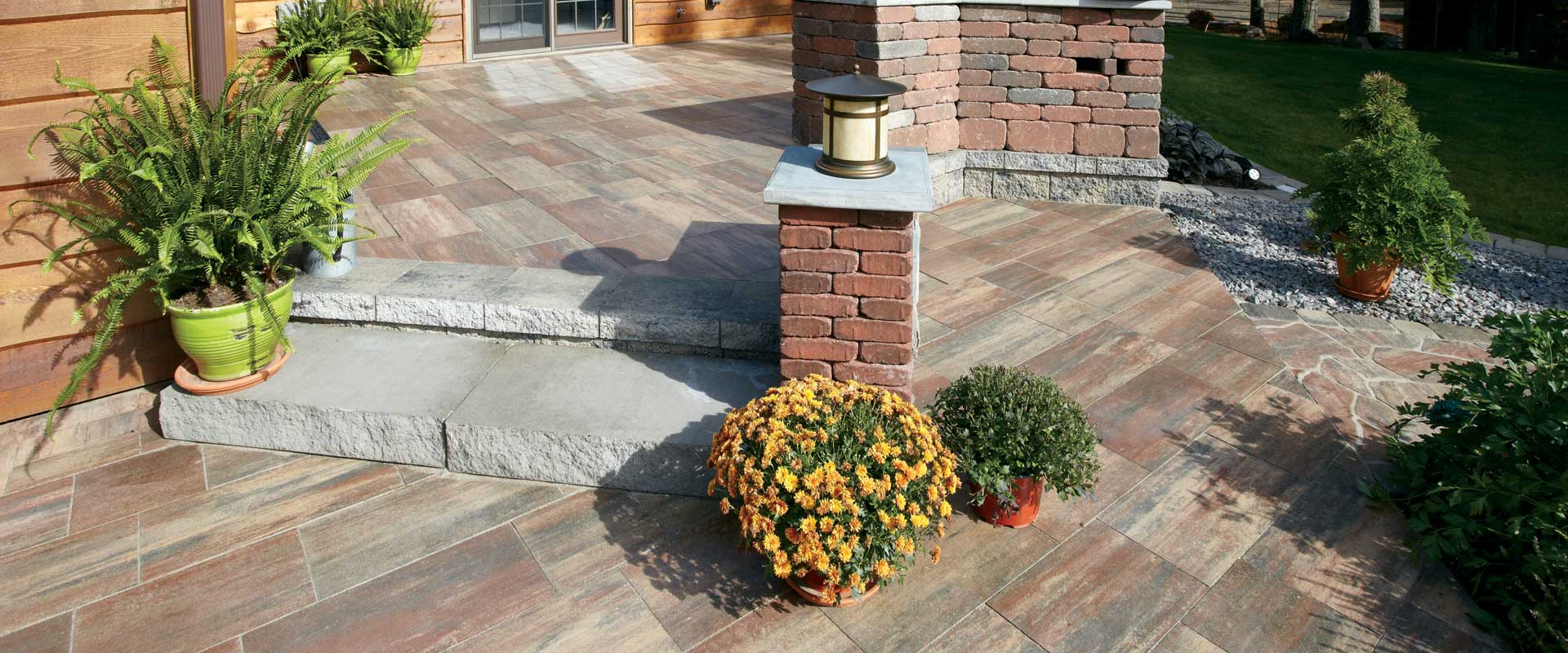 Grand milestone pavers and milestone pavers for Patio products