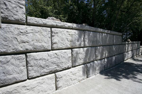 Block Retaining Wall Mackay : Rib rock landscape block