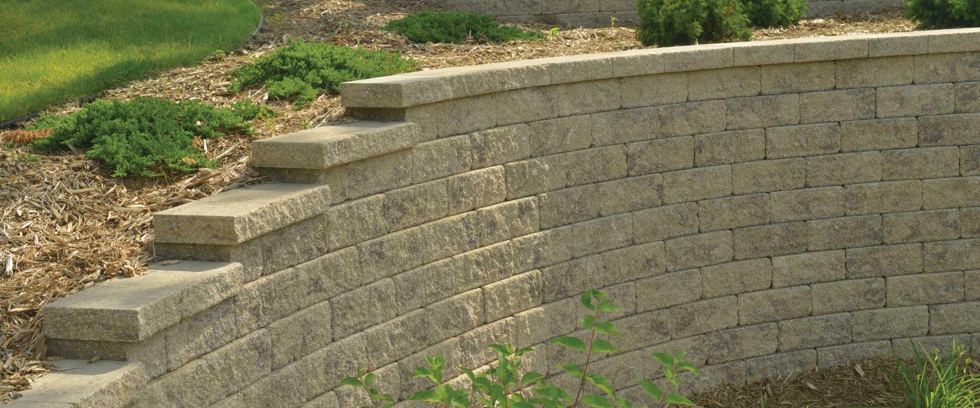 Tribute for Garden landscape retaining walls