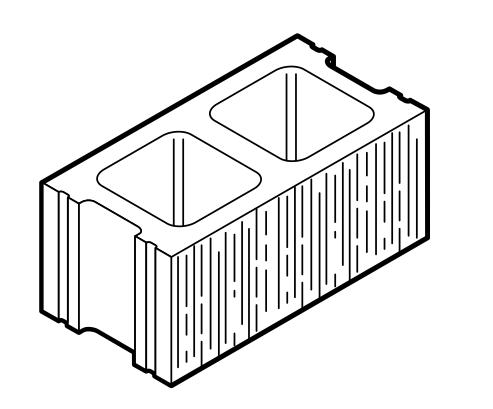 Wirecut Striated Units