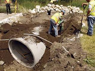 Elliptical Reinforced Concrete Pipe
