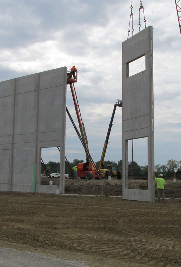 Insulated Sandwich Walls