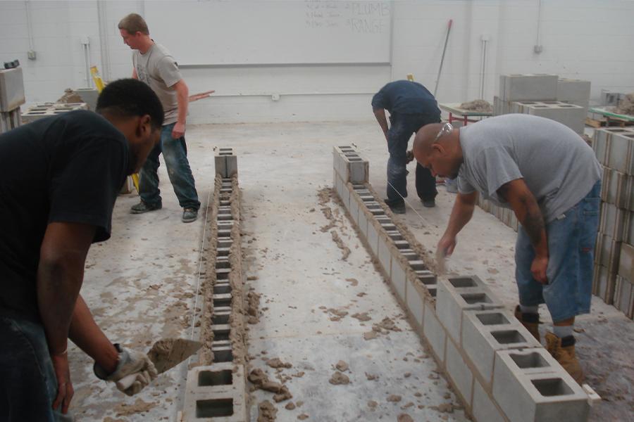 Ton block donation supports vital masonry training 14 ton block donation supports vital masonry training sciox Images