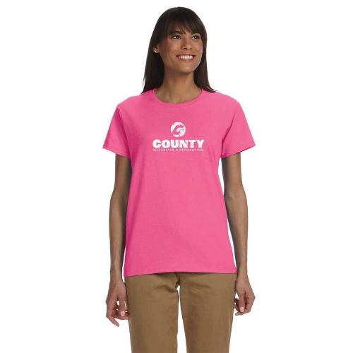 Gildan Ultra Ladies' Short Sleeve T-Shirt with center logo