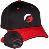Blk/Red Cap w/blk Piping