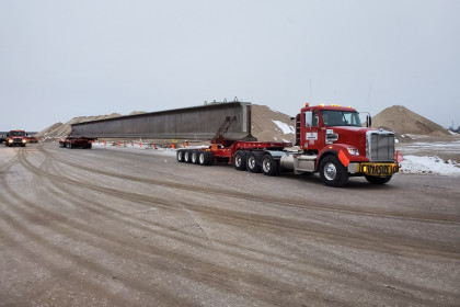 County Materials Ups the Ante for Chicago Mile-Long Bridge Project