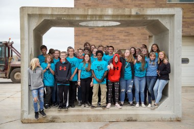 County Materials Welcomes Middle School Students in Annual Heavy Metal Tour