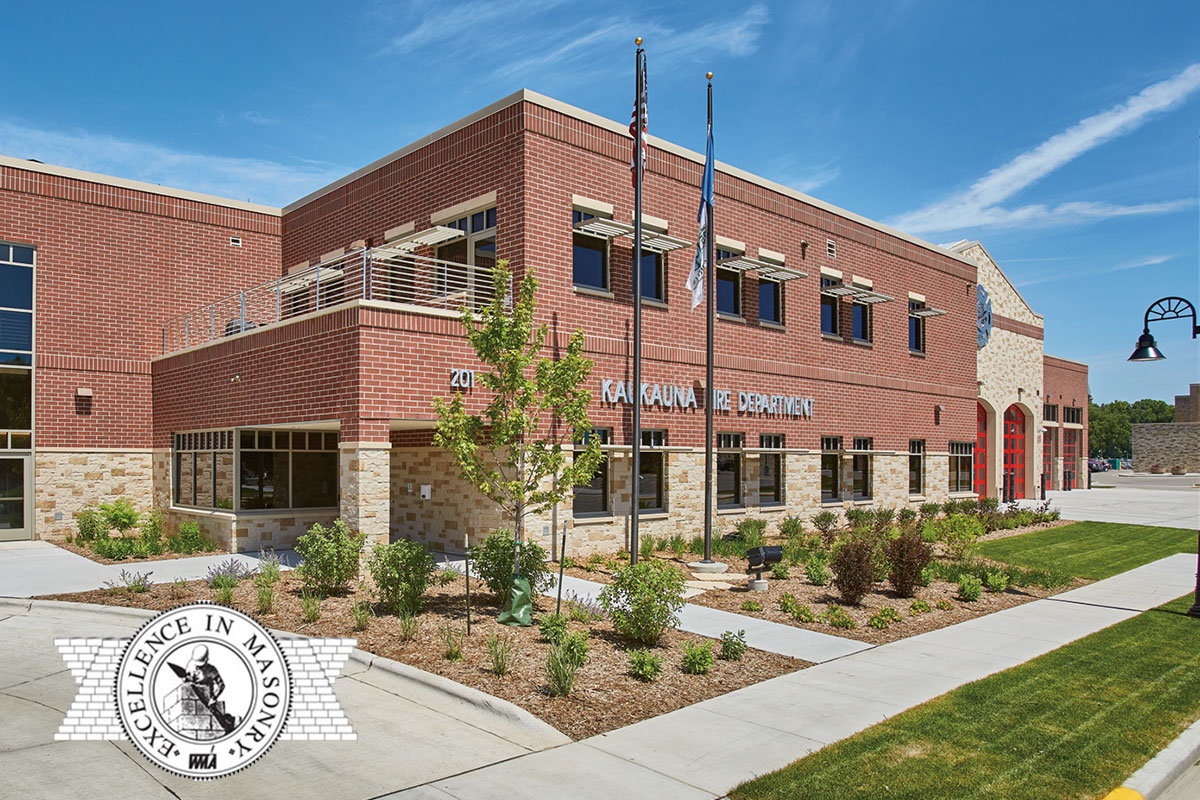 County Materials Supplies Five Award-Winning Projects in the WMA's Excellence in Masonry Competition