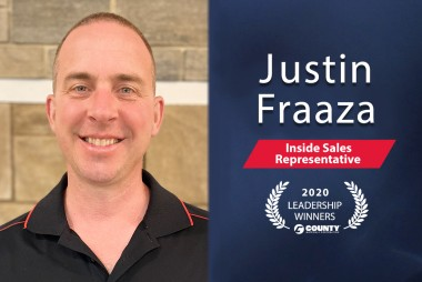 County Materials Congratulates Justin Fraaza – 2020 Second Quarter Leadership Award Winner