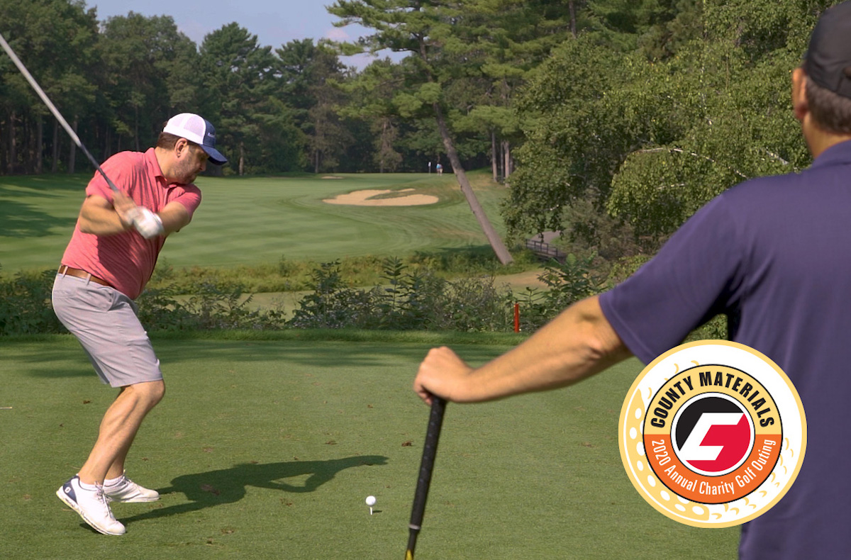 County Materials' 2020 Charity Golf Outing Turns Inspiration Into Action