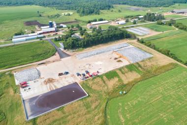 Ready-Mix Concrete Helps Expanding Local Farm Meet Environmental Regulations
