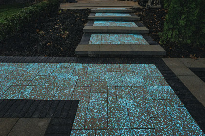 Introducing Pavers with Glow Path Technology™