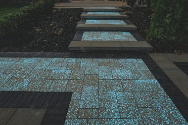 County Materials' Pavers with Glow Path Technology™  Illuminate New Possibilities for Outdoor Design