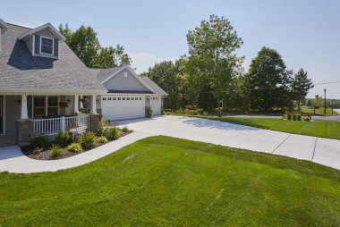County Materials' Ready-Mix Proves Ideal Solution for Residential Driveway
