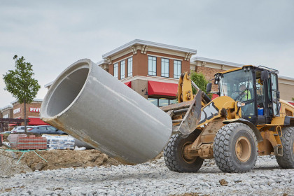 Reinforced Concrete Pipe Proves Most Economical Solution for Kenosha County's Highway 50 Expansion
