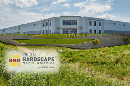 Hardscape North America Recognizes County Materials' Segmental Retaining Wall Units in Award-Winning Project