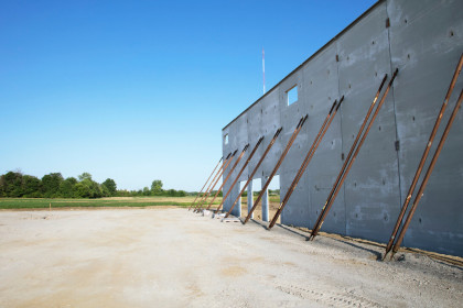 Insulated Sandwich Walls are Material of Choice for Indianapolis-Based Industrial Park