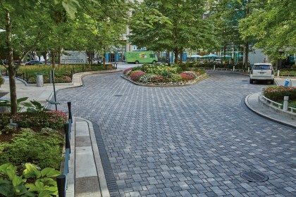 Permeable Pavers Surpass Storm Water Management Expectations and Design Goals for Apartment Application