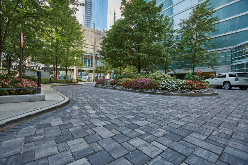 Permeable Pavers Surpass Storm Water Management Expectations and Design Goals for Luxury Application