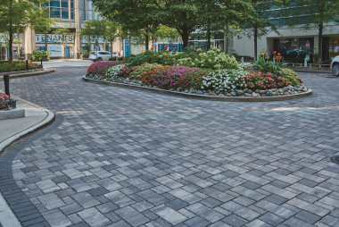 County Materials' Permeable Interlocking Concrete Pavers Elevate Storm Water Management Projects