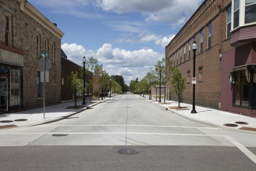 3rd Street – Downtown Stevens Point, Wis.