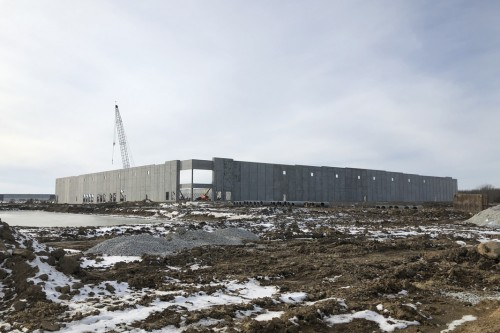 Insulated Sandwich Walls Supplied by County Materials Specified for Indiana's Fastest Growing Community