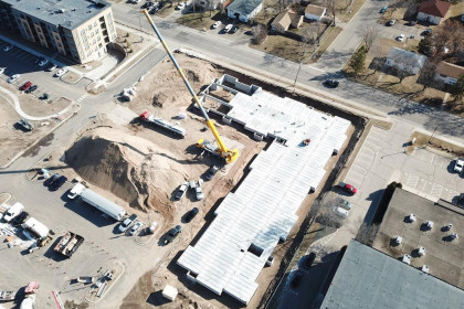 County Materials' Hollowcore Proves to be an Efficient Podium Solution with Unmatched Safety Benefits