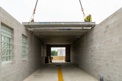 Case Study - County Materials Supplies Hollowcore Plank for Kwik Trip Regional Expansion Projects