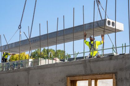 Hollowcore Plank Supports Sustainability Initiatives for Multi-Family Housing Project