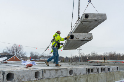 County Materials' Hollowcore Provides Ideal Solution for Minnesota Apartment Building