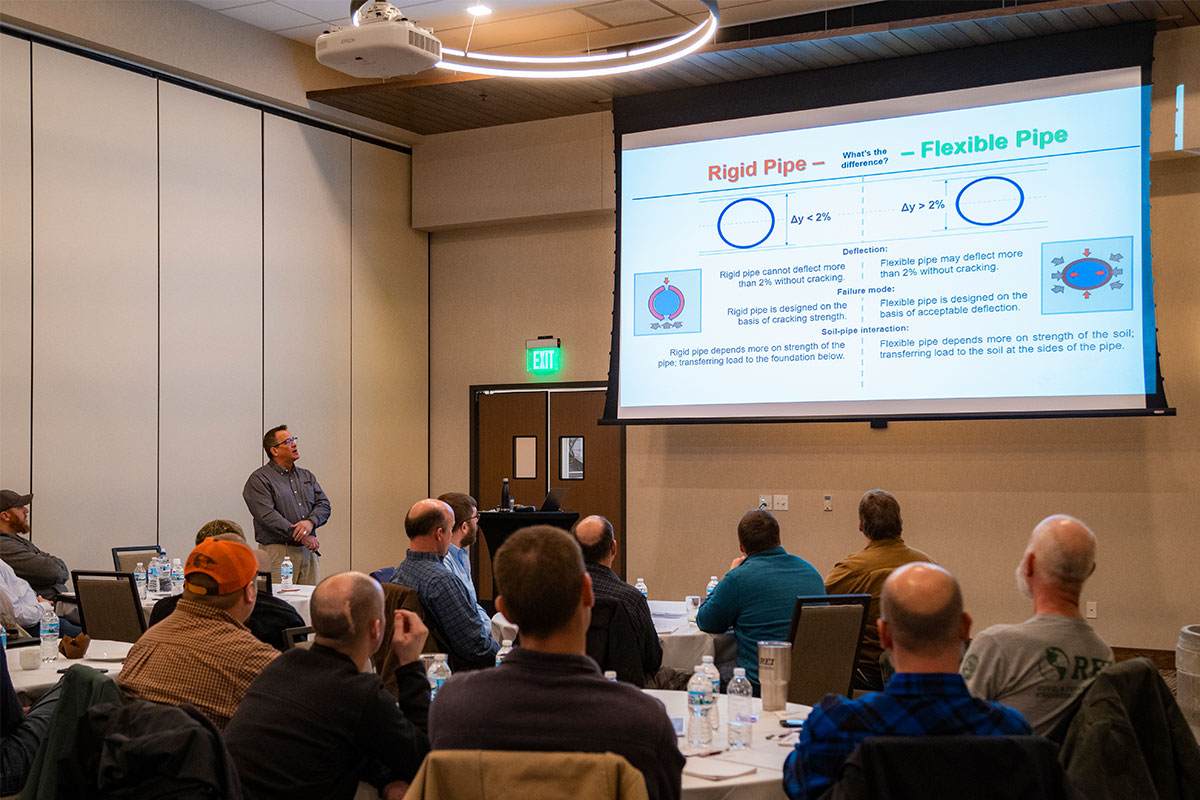 County Materials Educates Wisconsin Engineers and Installers on Effective Storm Water Management Systems