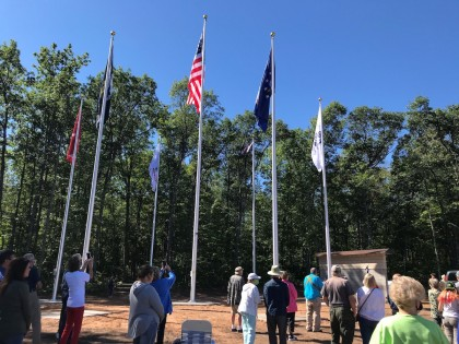 County Materials Honors Those Past and Present Through Across the Pond Veterans Park Donation