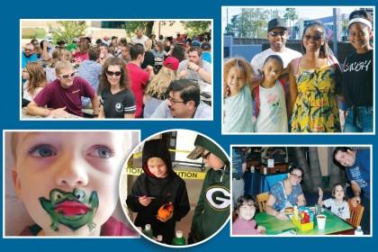 Team Members and Families Enjoy Appreciation Events