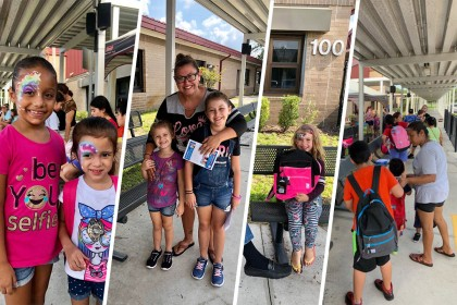 County Materials Supports Astatula, FL Back to School Supply Giveaway