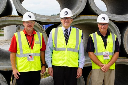 Concrete Pipe Week: US Congressmen Daniel Webster Tours County Materials' Astatula, FL Facility