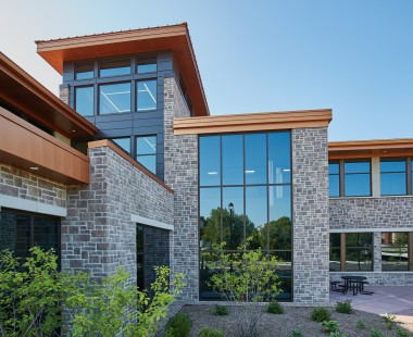 Reflection Stone® Masonry Units Provide Affordable Natural Aesthetic and Inherent Strength for Baraboo Municipal Building