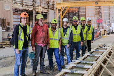 County Materials Partners with Engineering Students for Bridge Beam Design Competition