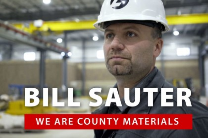We Are County Materials: Team Member Bill Sauter
