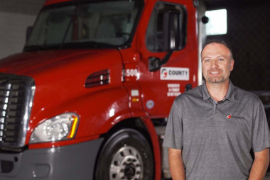 National Truck Driver Appreciation Week: County Materials' Corporate Fleet Manager, Bill Sauter, Discusses the Importance of Truck Drivers