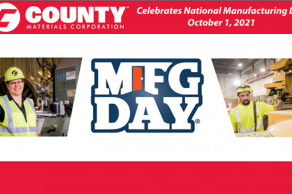 County Materials Recognizes National Manufacturing Day 2021