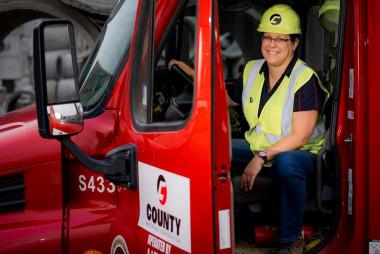 National Truck Driver Appreciation Week: Establish a Rewarding Career as a County Materials' Truck Driver